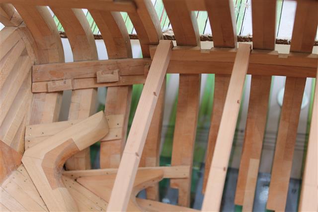 La Belle 1684 scala 1/24  piani ANCRE cantiere di grisuzone  Img_0517
