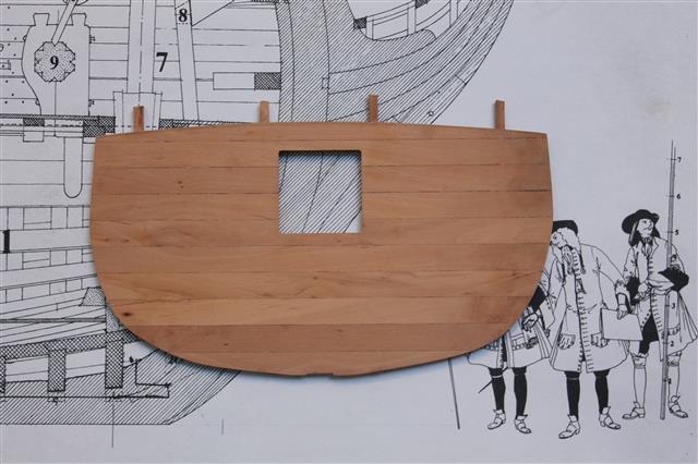 La Belle 1684 scala 1/24  piani ANCRE cantiere di grisuzone  Img_1611