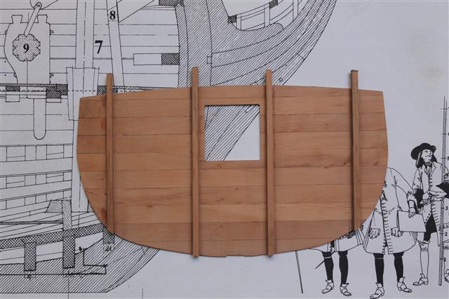 La Belle 1684 scala 1/24  piani ANCRE cantiere di grisuzone  Img_1612