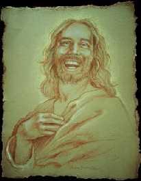 Jésus-Christ qui sourit, (dessins) Jesusr10
