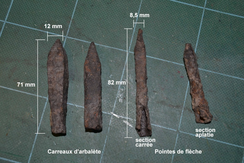 pointe de flèche médiévale  Carrea10