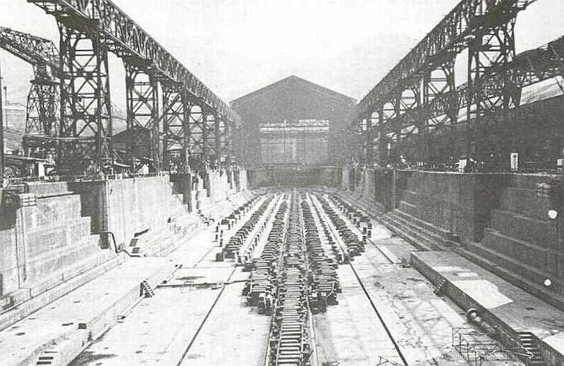 [Montage] Port/arsenal de Kure WWII - 1/700 1937_s10