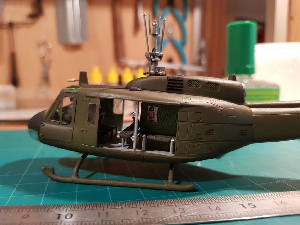 Italeri UH-1 B & D Vietnam 1/72 313