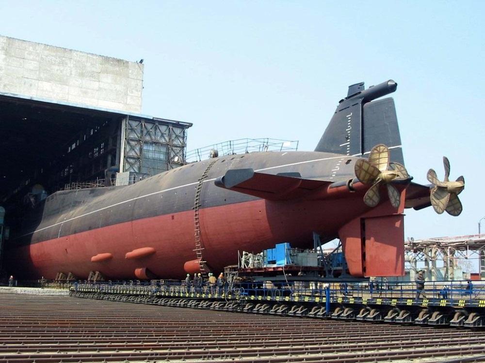 SSBN Delta III 1/700 OKB K-433-10