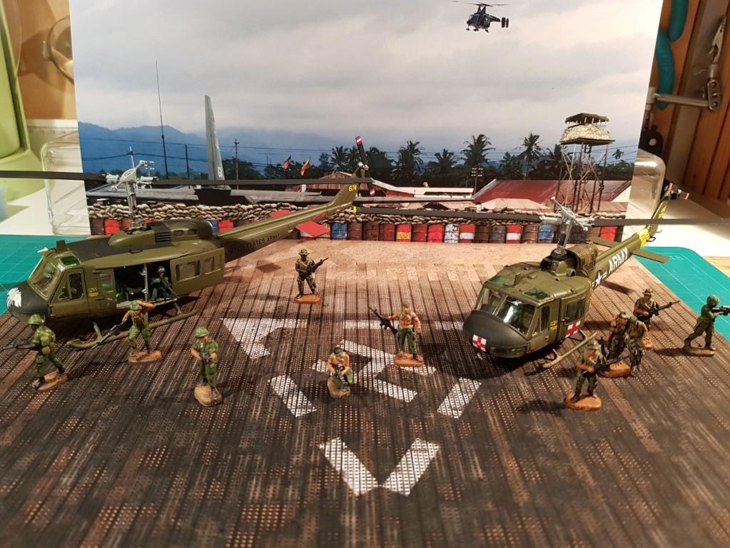Italeri UH-1 B & D Vietnam 1/72 Reduit11