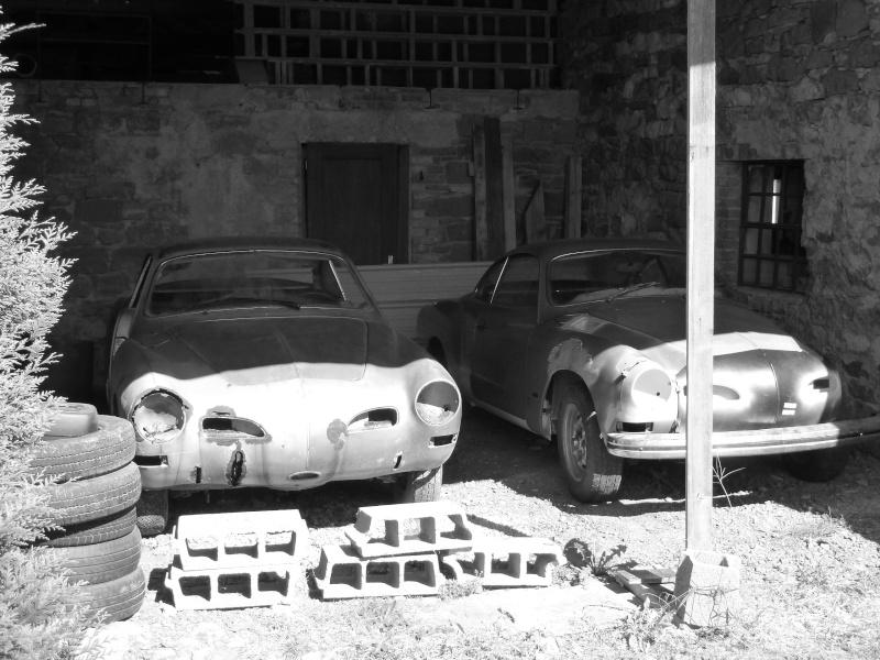 denis du bas rhin et sa Karmann Ghia de 73 sortie de grange - Page 3 P1060910