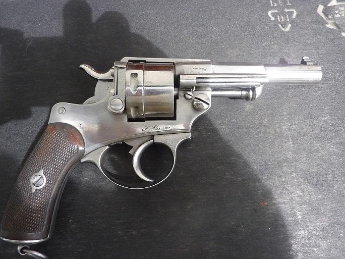 Revolver civil 1873.Barillet non cannele. P1000220
