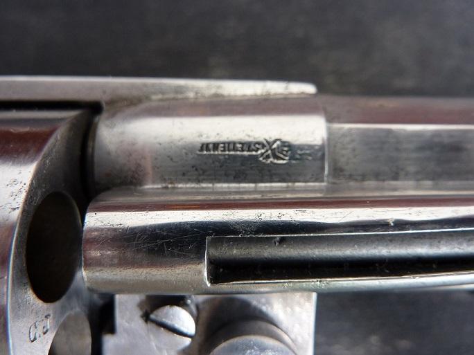 Revolver civil 1873.Barillet non cannele. P1000221