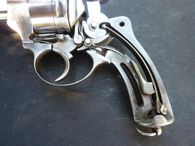 Revolver civil 1873.Barillet non cannele. P1000222