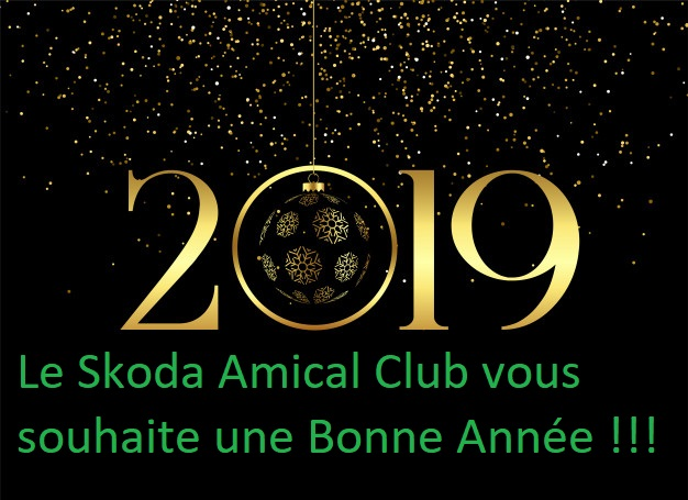 Bonne Année 2019 Happy210