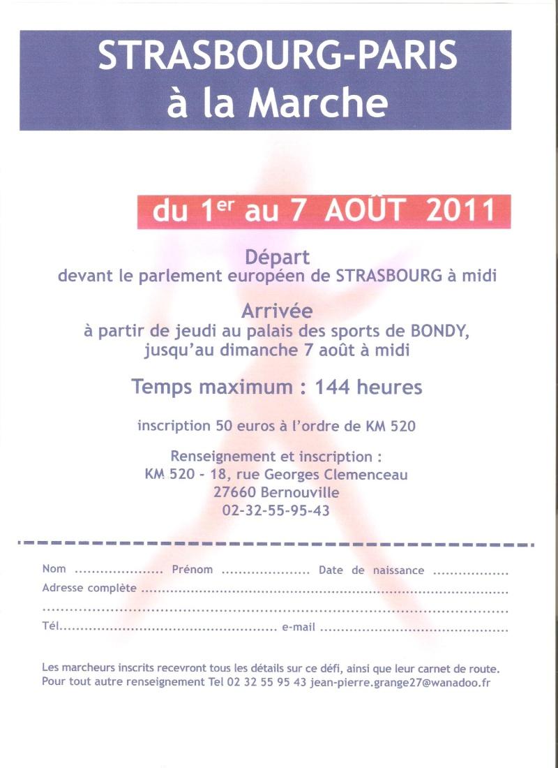 Inscriptions de Strasbourg-Paris à la marche - Page 2 Strasb11