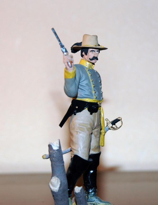 Kavallerieoffizier der Südstaaten in 1/16 K800_107