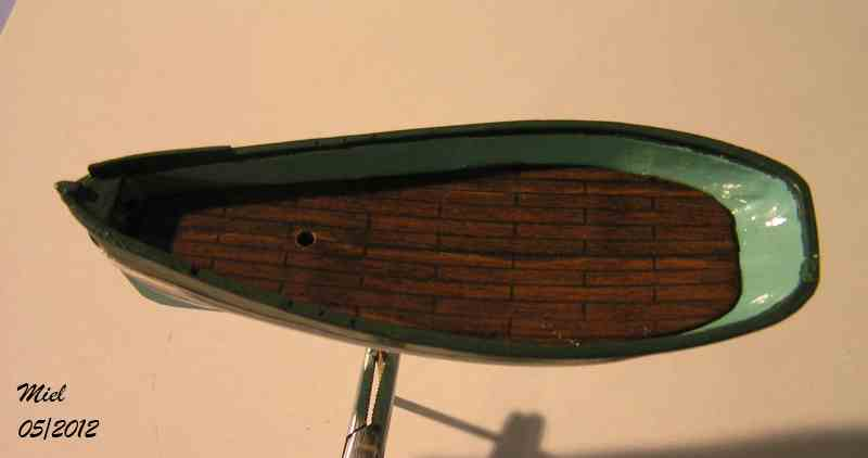Le  CAP SIZUN en bateau moule  1810