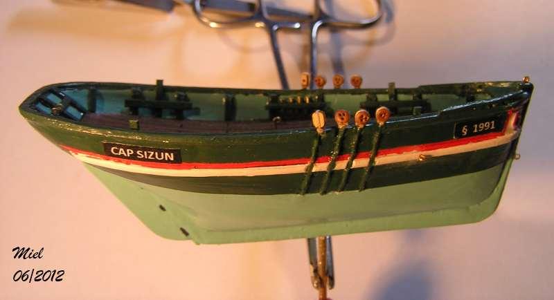 Le  CAP SIZUN en bateau moule  2611