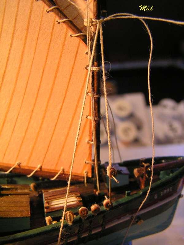 Le  CAP SIZUN en bateau moule  3211