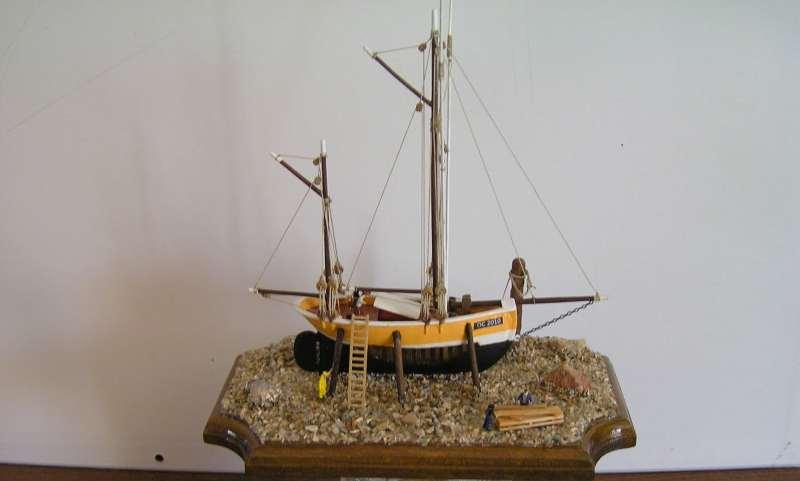 diorama dundee de ile de groix bateau moule Dundee10