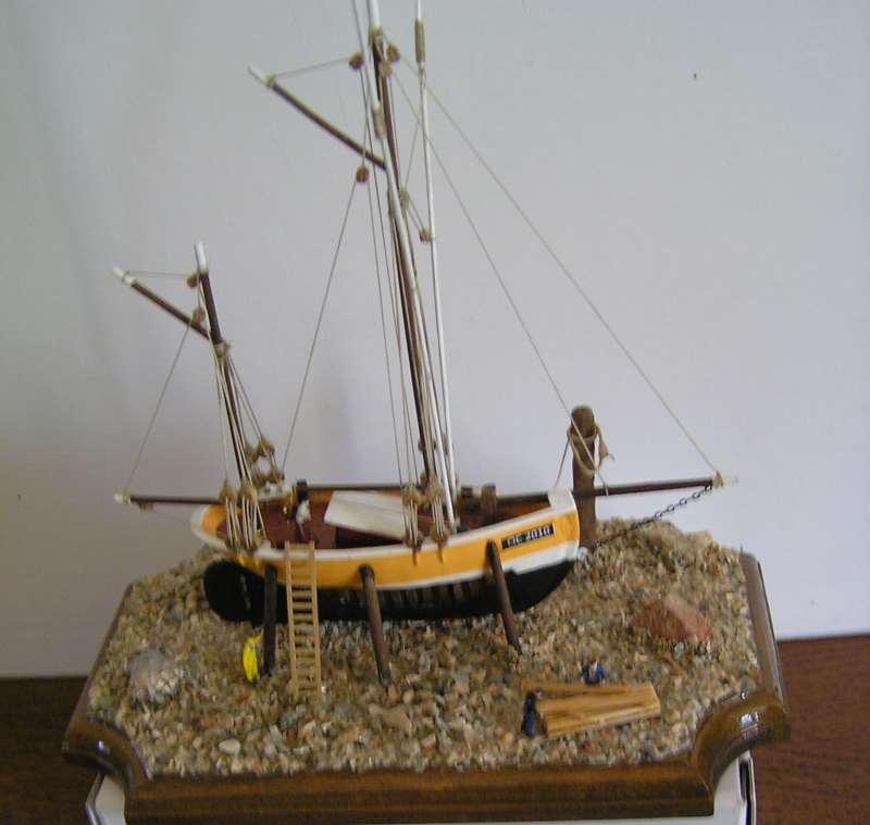 diorama dundee de ile de groix bateau moule Dundee11
