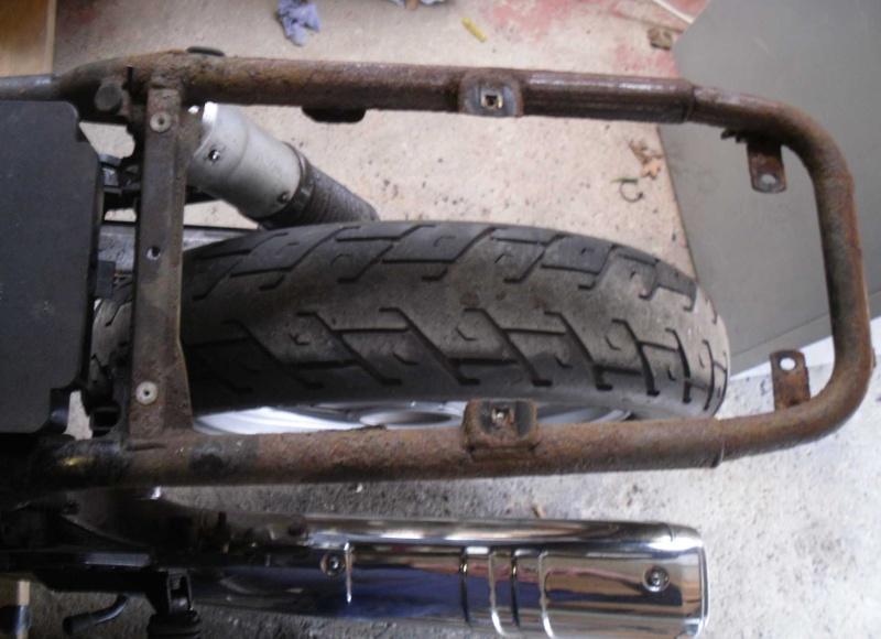My 1988 K100LT (renovation) Tidy - up!! Rear111