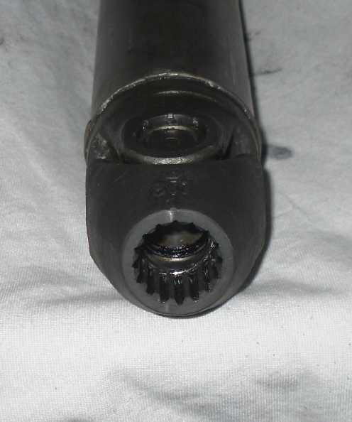My 1988 K100LT (renovation) Tidy - up!! Spline10