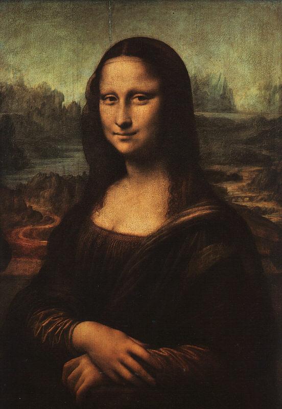 Leonardo Da Vinci's Mona Lisa 242110