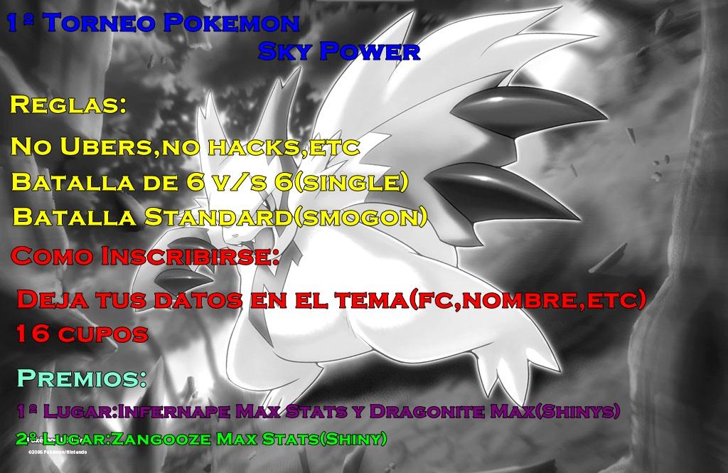 1º Torneo Pokemon Sky Power Pokemo10