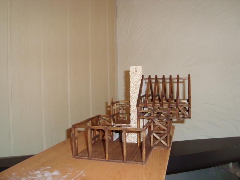 Fachwerkhaus mit Wasserrad Haus1010