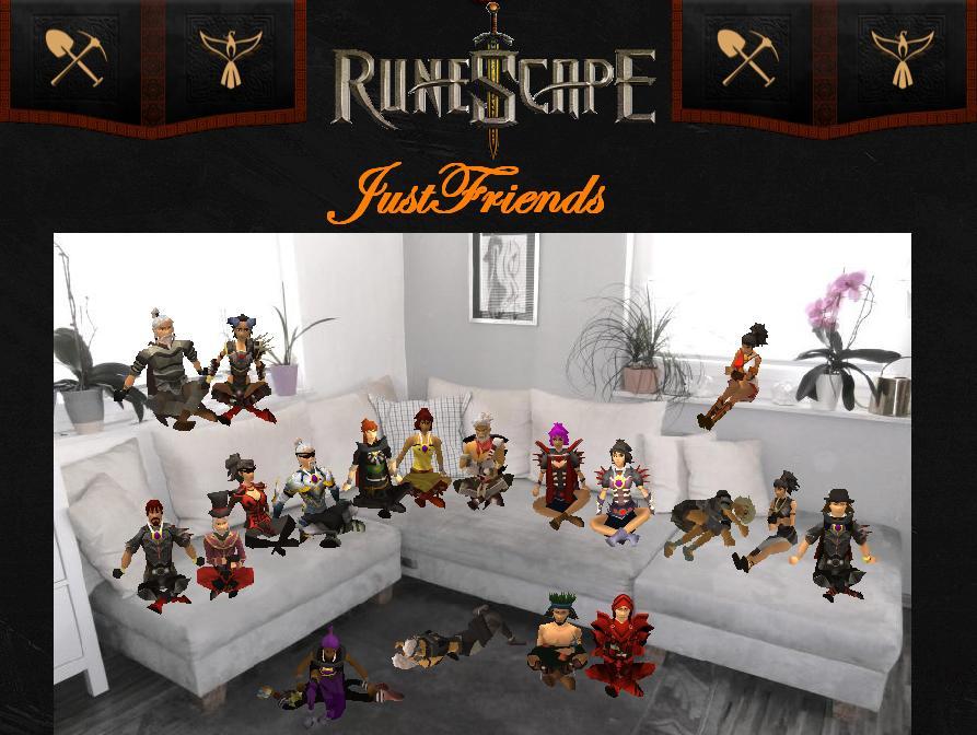 Justfriends - Runescape Spielerclan