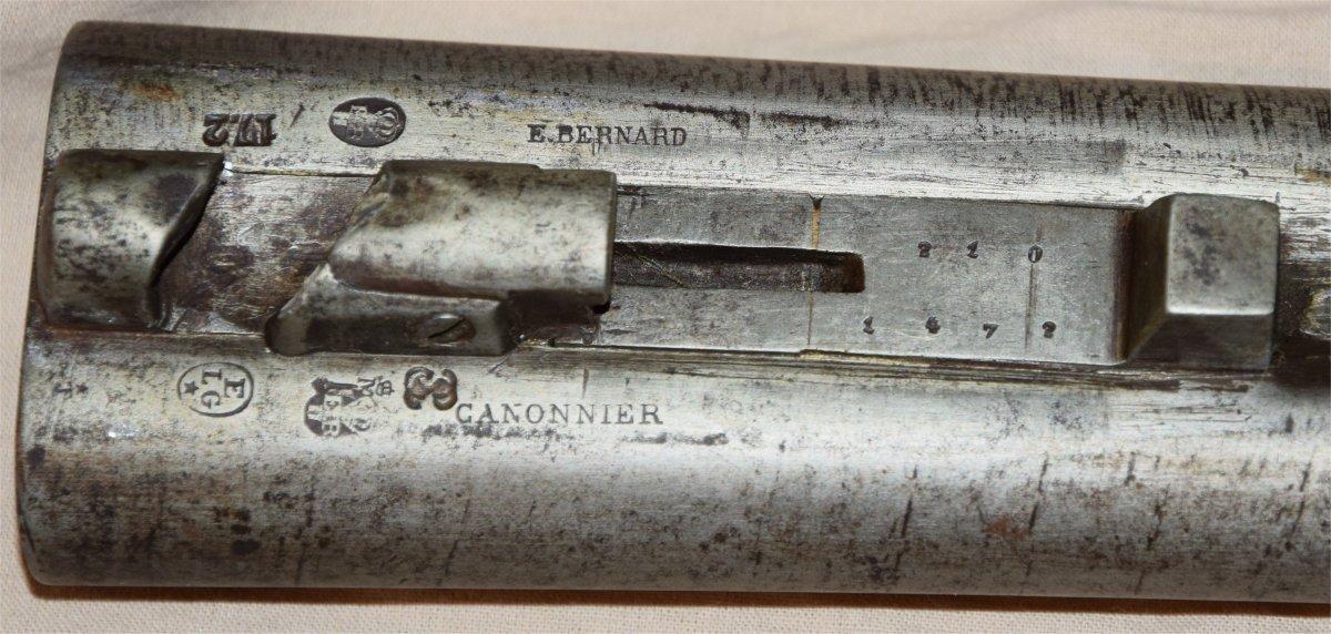 Fusil à broches modifié à percussion centrale 20210316