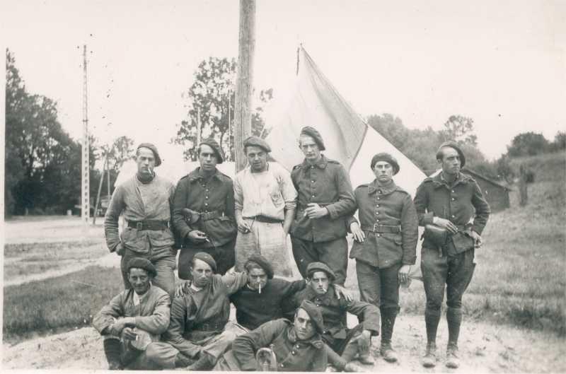 Fusils et carabine Gras dans l'armée de l'air en 1938-1940 Ppleon10