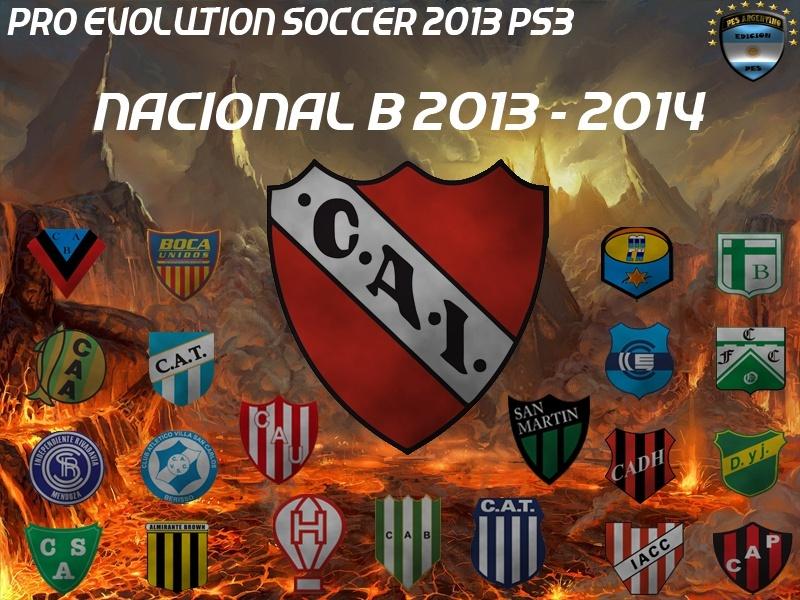 [PROYECTO] Pes 2013 Nacional B 2013 - 2014 PS3 Nacion10