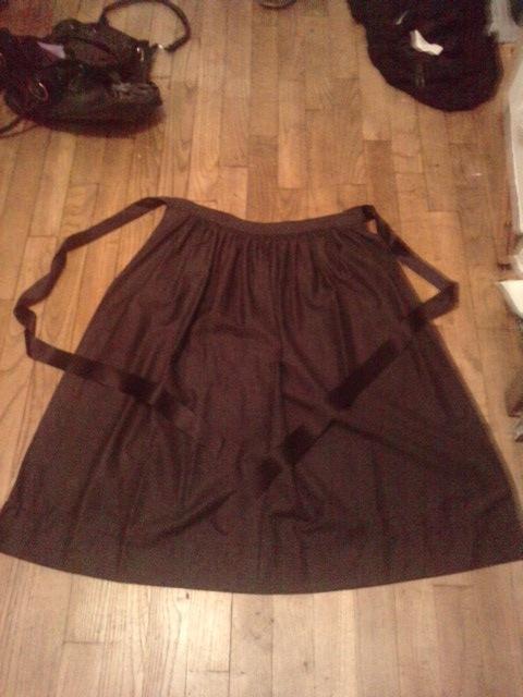 Costume Breton - Tablier de Plougastel Tablie12