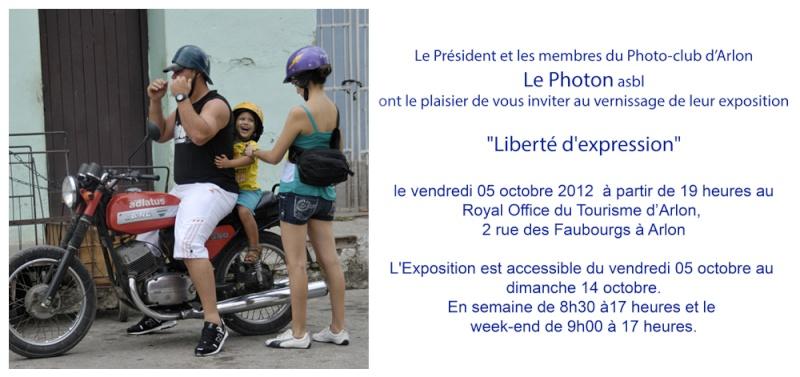 Expo du Photon d'Arlon  à l'office du Tourisme Invita11