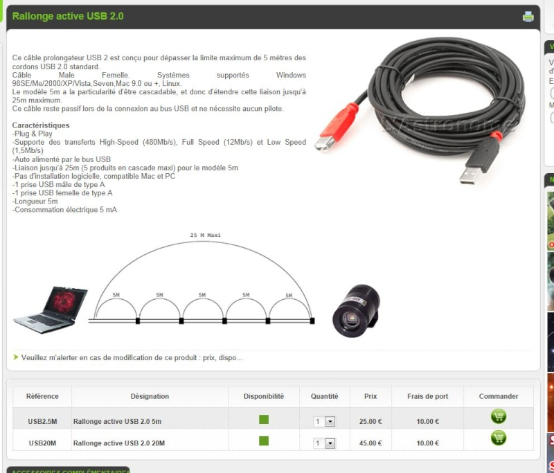 cable USB ACTIF Nge10