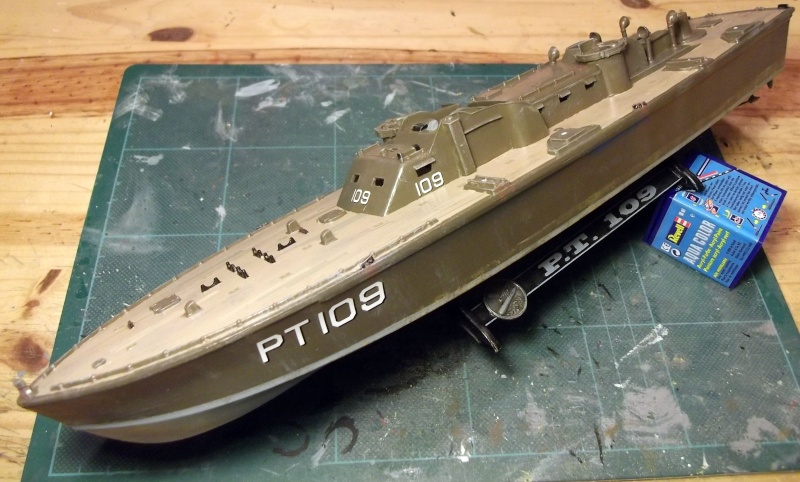 Revell - Torpedo Boat - PT109 - 1/72 Pt_3010