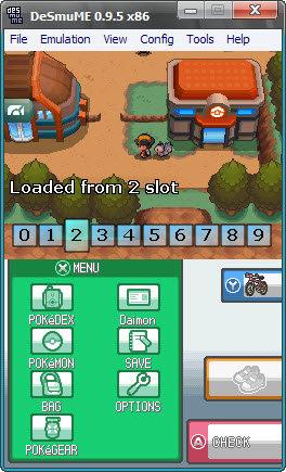 DeSmuMe V 0.9.6 Emulador de Nintendo DS para PC Desmum10