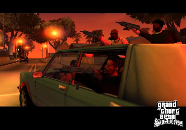Grand Theft Auto San Andreas full Supercomprimido + Parche para guardar las partidas + Todas las misiones completadas + Trucos Screen10