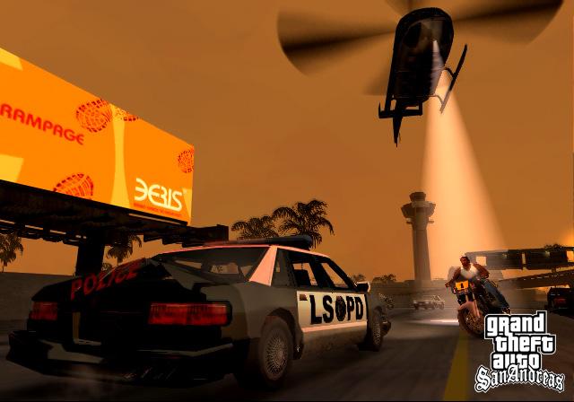 Grand Theft Auto San Andreas full Supercomprimido + Parche para guardar las partidas + Todas las misiones completadas + Trucos Screen11