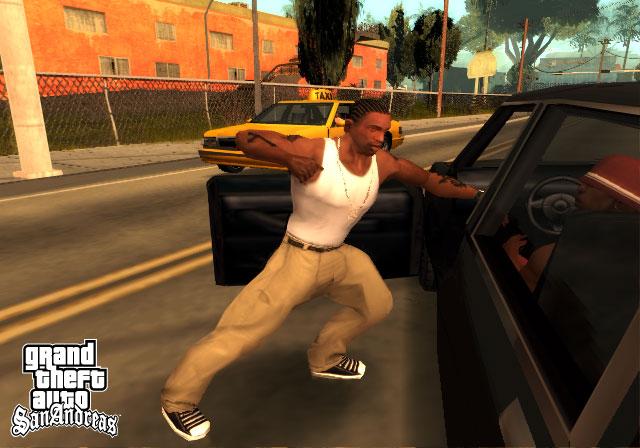 Grand Theft Auto San Andreas full Supercomprimido + Parche para guardar las partidas + Todas las misiones completadas + Trucos Screen15