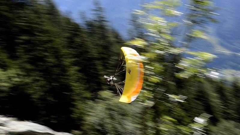 Speed Flying à Chamonix Arnaud10