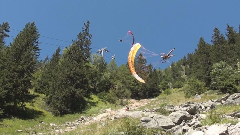 Speed Flying à Chamonix Image110