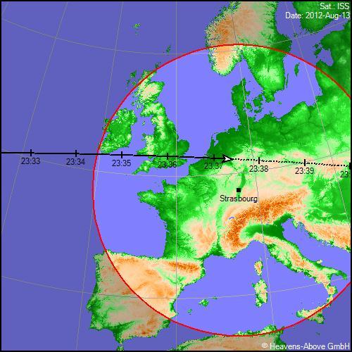 2012: le 12/08 à 22h55 - Boules lumineuses - à proximité d'Obernai en direction de Strasbourg (67)  Passgt13