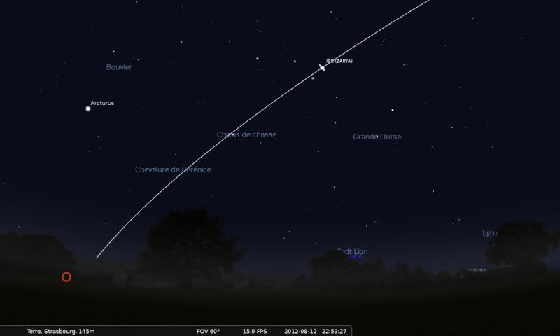 2012: le 12/08 à 22h55 - Boules lumineuses - à proximité d'Obernai en direction de Strasbourg (67)  Stella11