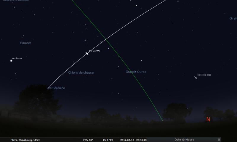 2012: le 12/08 à 22h55 - Boules lumineuses - à proximité d'Obernai en direction de Strasbourg (67)  Stella12