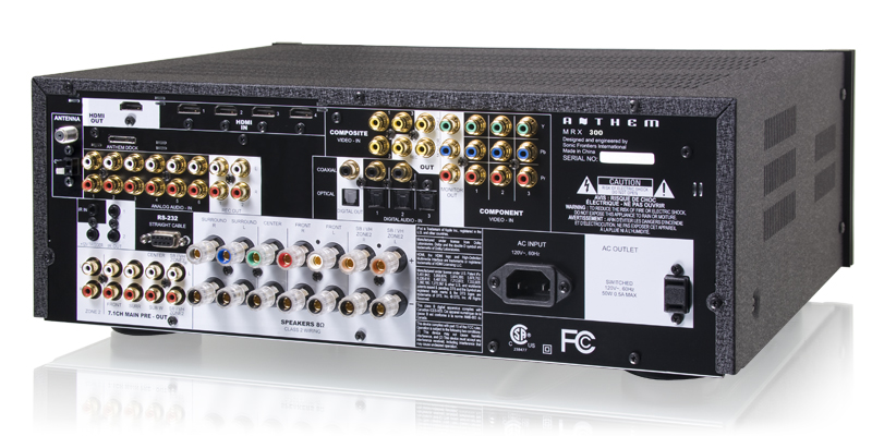 Anthem MRX 300 AVR Best AVR with Worldclass Room Correction Mrx30011