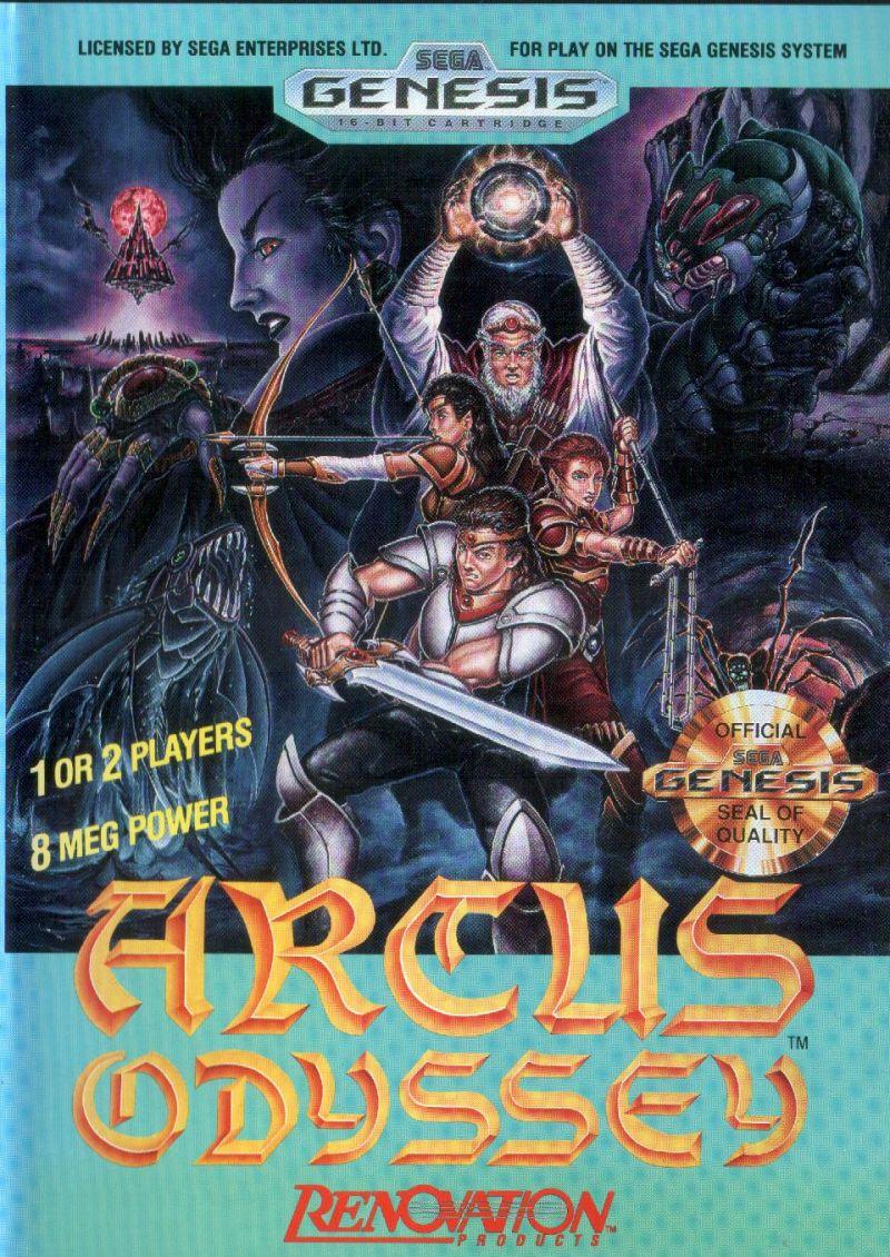 Les jeux sega genesis (MD) jamais sortis en europe Arcus-10