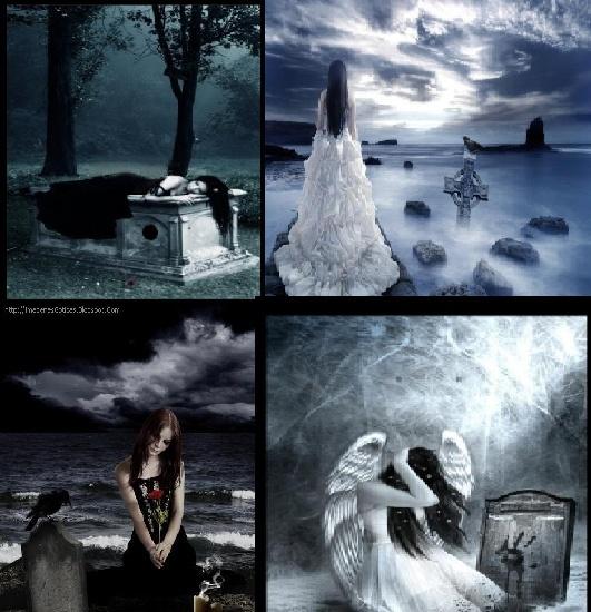 Goticas en el cementerio III Imagen11