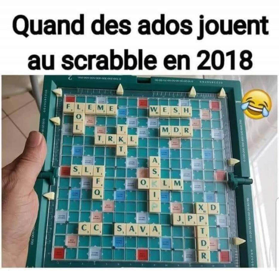 C'est marrant ! Scrabb10