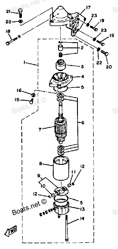 reconstruction à neuf d'un YAM 30Cv / 2 tps  (mon nouveau yamaha) Electr10