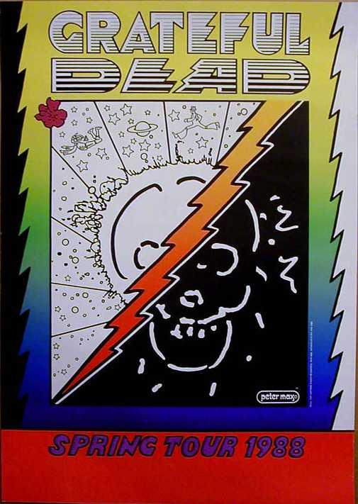 Grateful Dead - Affiches 1988sp10