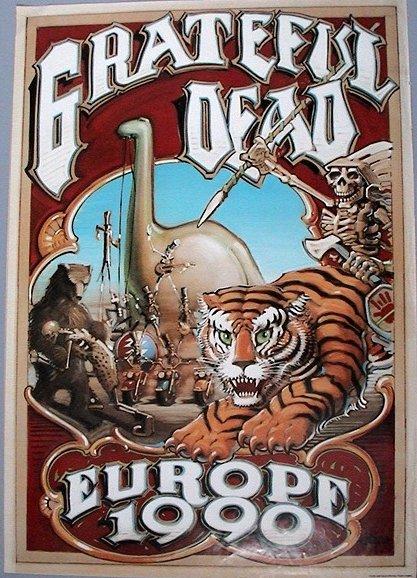 Grateful Dead - Affiches 1990eu10